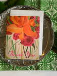 Watercolor Floral Stationery  || Spring Flower Thank You Notes - Old Southern Charm