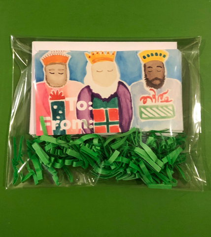 We Three Kings Enclosure Cards / Gift Tags