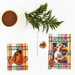Fall Plaid Party Invitation || Fall Inspired Invitations - Old Southern Charm