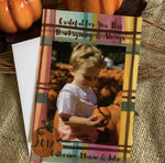 Fall Plaid Photo Card || Fall Inspired Photo Card - Old Southern Charm
