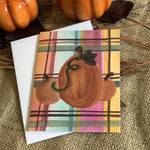 Fall Plaid Stationery || Fall Pumpkin Thank You Notes - Old Southern Charm