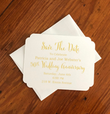 Floral Save The Dates || Patel Floral RSVP Cards - Old Southern Charm