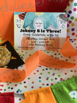 Ghost Party Invitations || Halloween Inspired Party Invitations - Old Southern Charm