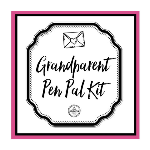 Grandparent / Grandchild Pen Pal Kit - Old Southern Charm