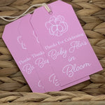 Personalized Paper Hanging Gift Tags || Enclosure Card Designs - Old Southern Charm