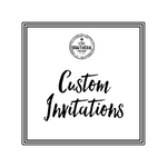 Personalized / Custom Invitations - Old Southern Charm