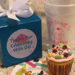 Personalized and Monogrammed Cups || Styrofoam, Stadium, and Frosted Acrylic Cups - Old Southern Charm