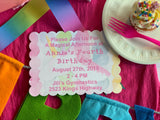 Unicorn Birthday Party Invitations || Children Birthday Invitations - Old Southern Charm