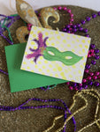 Mardi Gras Masquerade Stationery || Mardi Gras Thank You Notes - Old Southern Charm