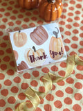 Pumpkin Party  Stationery || Fall Inspired Thank You Notes - Old Southern Charm