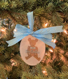 Theodore Teddy Bear Ornament || Teddy Bear Christmas Ornament - Old Southern Charm