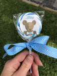 Theodore Teddy Bear Lollipop Party Favors || Party Favors For Kids - Old Southern Charm