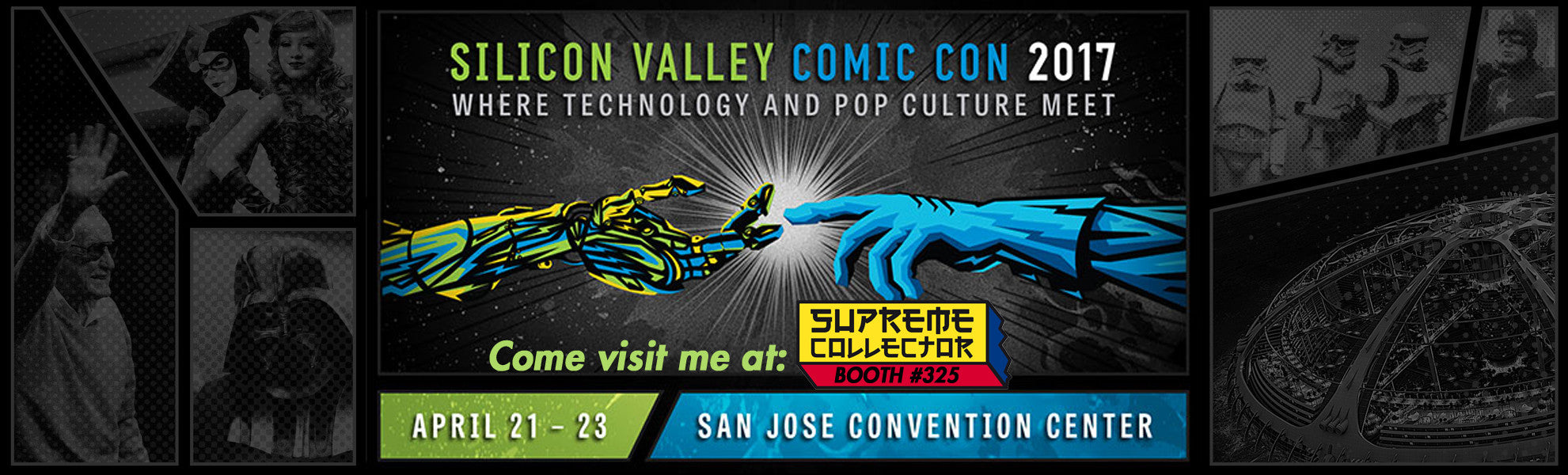 SupremeCollector at Silicon Valley Comic Con 2017