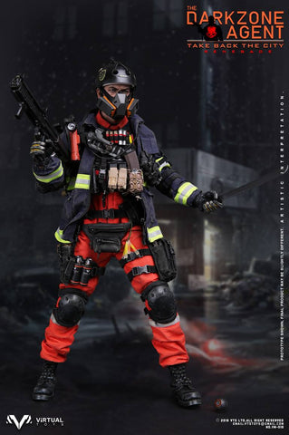 "VTS Toys - The Darkzone Agent ""Renegade"" 1/6 scale figure"