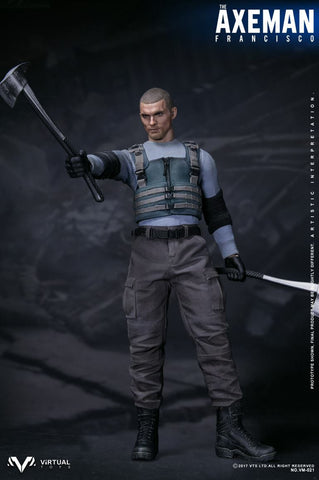 "VTS Toys - Axeman ""Francisco"" aka: Ajax 1/6 scale figure"