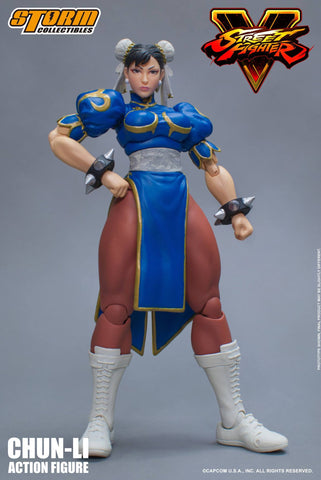 Storm Collectibles 1:12 Street Fighter V - Chun Li Figure
