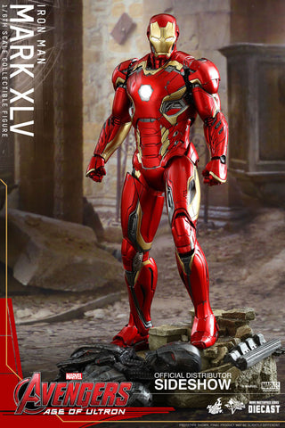 "Hot Toys Mark XLV ""Avengers: Age of Ultron"" 1/6 Figure"