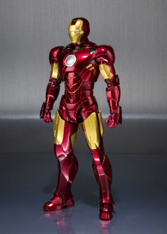 "S.H. Figuarts - ""Iron Man 2"" Mark IV  & Hall of Armor Set"