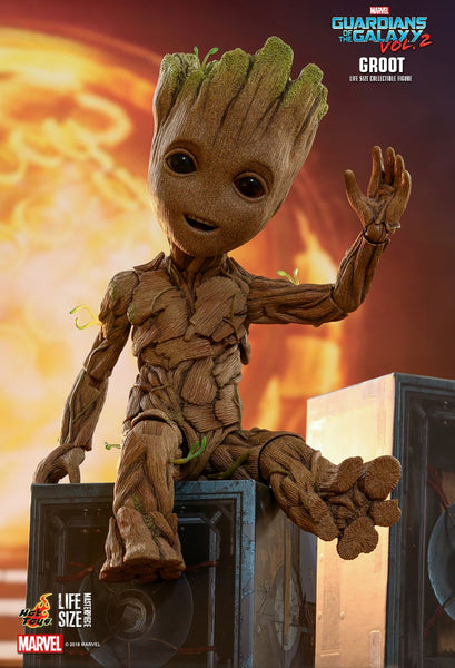 "Hot Toys ""Guardians of the Galaxy Vol 2"" Groot  Figure"