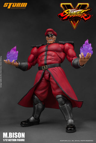 Storm Collectibles 1:12 Street Fighter V - M.Bison Figure