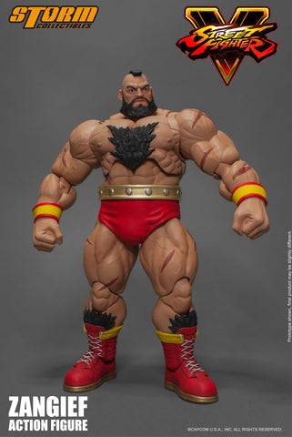Storm Collectibles 1:12 Street Fighter V - Zangief Figure