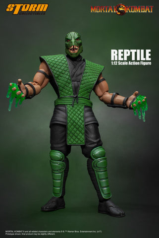 Storm Collectibles 1:12 Mortal Kombat - Reptile (Klassic) Figure
