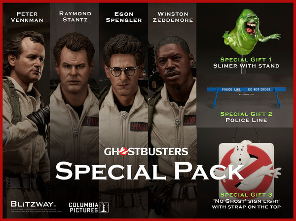 "1/6 ""Ghostbusters 1984"" - Deluxe Pack Collectible Figure"