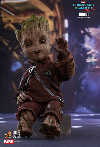 "Hot Toys ""Guardians of the Galaxy Vol 2"" Groot life-size Figure"