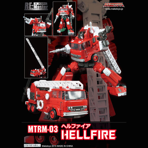 MakeToys Re:Master MTRM03 Hellfire
