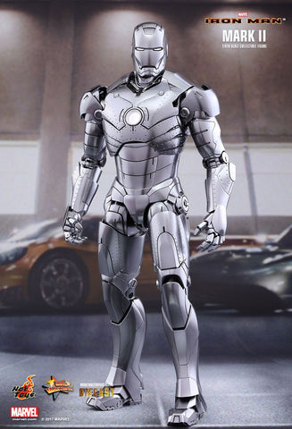"Hot Toys ""Iron Man"" Mark II Die-Cast 1/6 Figure"