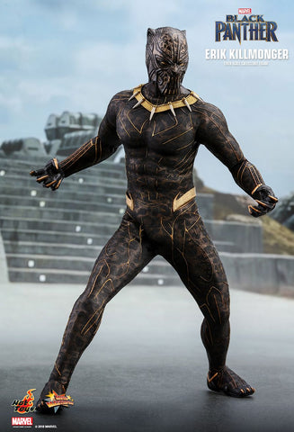 "Hot Toys ""Black Panther"" Erik Killmonger 1/6 Figure"