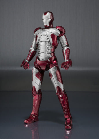 "S.H. Figuarts - ""Iron Man 2"" Mark V  & Hall of Armor Set"