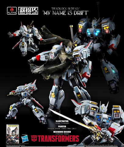 "Flame Toys ""Transformers""  Drift - Diecast Figure"