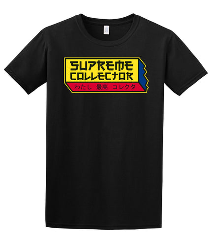 SupremeCollector Logo Short Sleeve T-Shirt, Black Size L