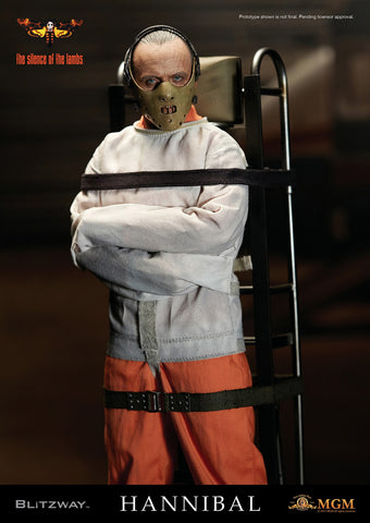 "1/6 ""The Silence of the Lambs"" - Hannibal Lecter (Straitjacket ver.) Collectible Figure"