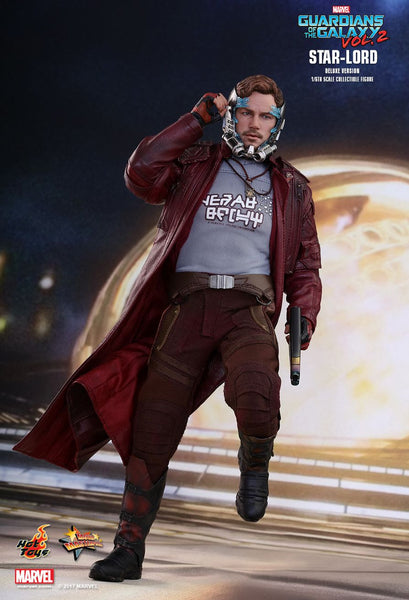 "Hot Toys ""Guardians of the Galaxy Vol 2"" Star-Lord Deluxe Version 1/6 Figure"