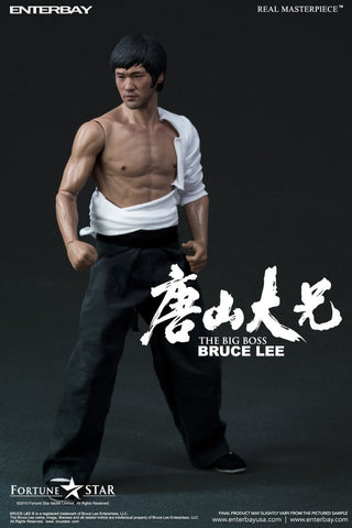 "Enterbay Real Masterpiece - Bruce Lee ""The Big Boss"" 1/6 scale figure"
