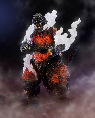 S.H.MonsterArts: Godzilla (1995) Ultimate Burning Ver. by Bandai