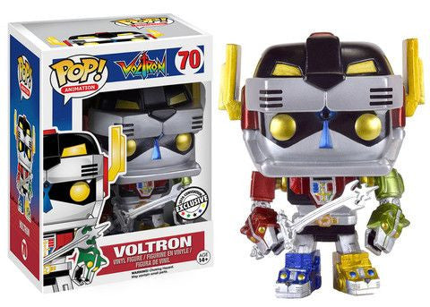 "Funko Pop ""Animation"" Voltron Metallic - Anime Expo Exclusive"