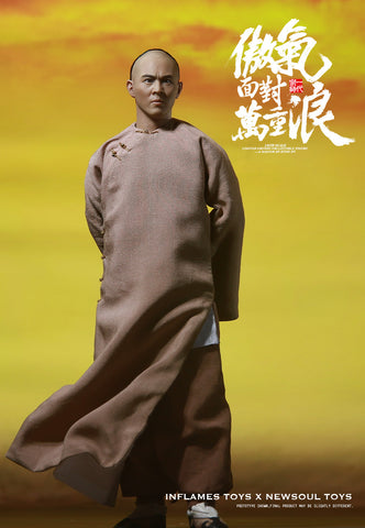 "Inflames Toys x NewSoul 1/6th ""Once Upon a Time in China"" Wong Fei Hong (A Master Of Kung Fu) Figure"