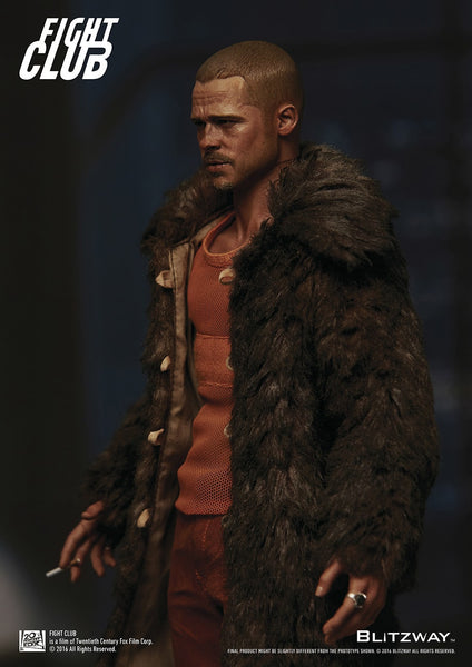 "1/6 ""Fight Club"" - Tyler Durden (Fur Coat) Collectible Figure"