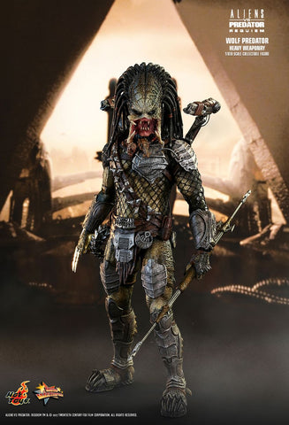 "Hot Toys ""Aliens vs. Predator: Requiem"" Wolf Predator (Heavy Weaponry) 1/6 Figure"