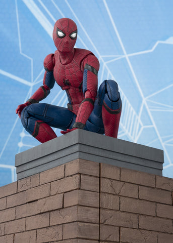 "S.H. Figuarts - ""Spider Man: Homecoming"" Spider Man with Tamashii OPTION ACT WALL"