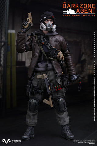 VTS Toys - The Darkzone Agent  1/6 scale figure