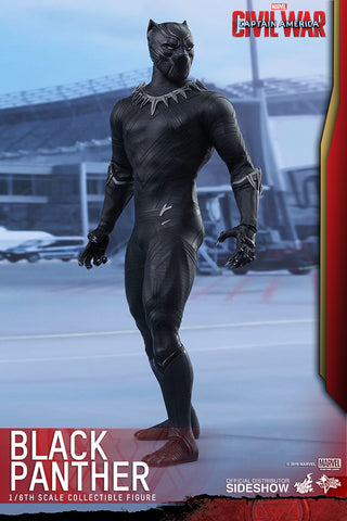 "Hot Toys ""Captain America Civil War"" Black Panther 1/6 Figure"