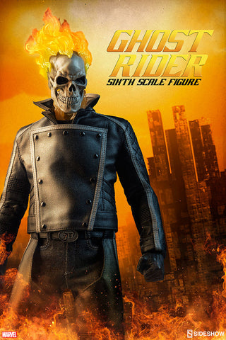 "Sideshow Collectibles ""Marvel Comics"" Ghost Rider 1/6 Figure"