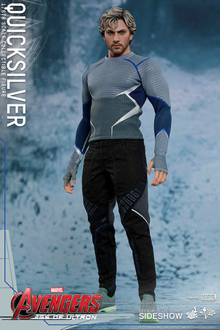 "Hot Toys Quicksilver ""Avengers Age of Ultron"" 1/6 Figure"