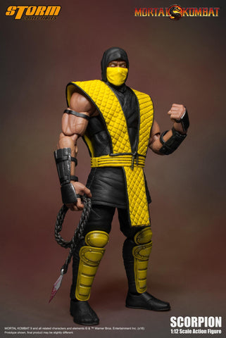 Storm Collectibles 1:12 Mortal Kombat - SCORPION (Klassic) Figure