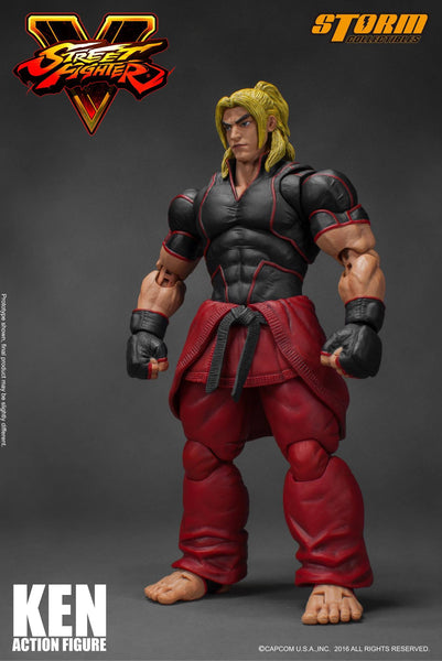 Storm Collectibles 1:12 Street Fighter V - Ken Figure