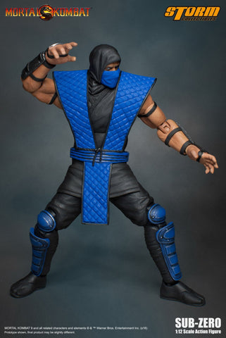 Storm Collectibles 1:12 Mortal Kombat - Sub Zero (Klassic) Figure